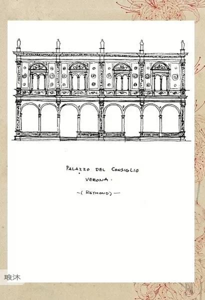 一代宗师梁思成与他的建筑手绘稿