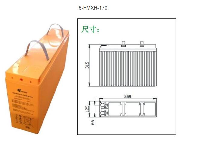 双登蓄电池6-FMXH-170