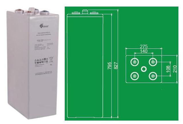 双登蓄电池GFMJ-1200B