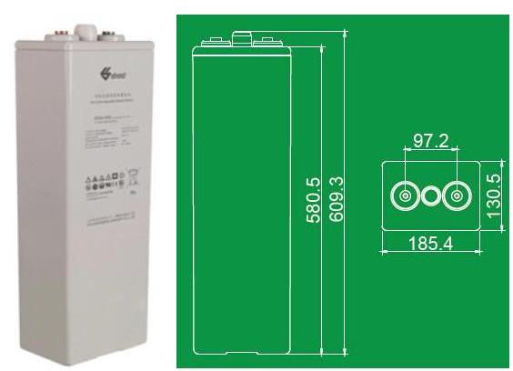 双登蓄电池GFMJ-600