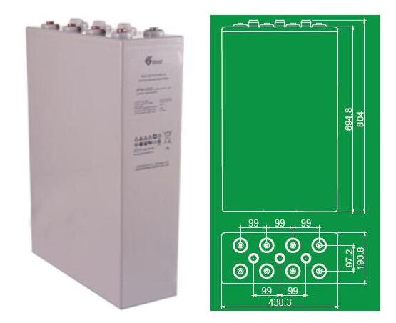 双登蓄电池GFMJ-2500