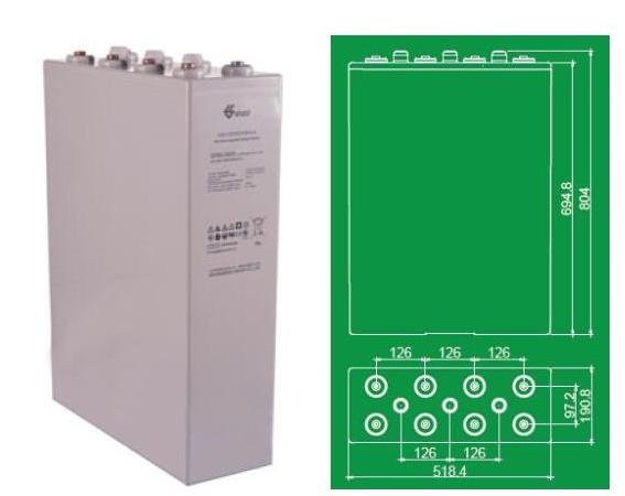 双登蓄电池GFMJ-3000