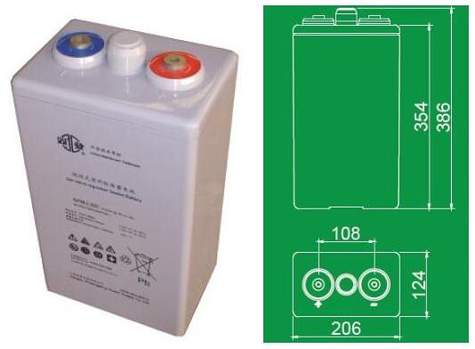 双登蓄电池GFMJ-250